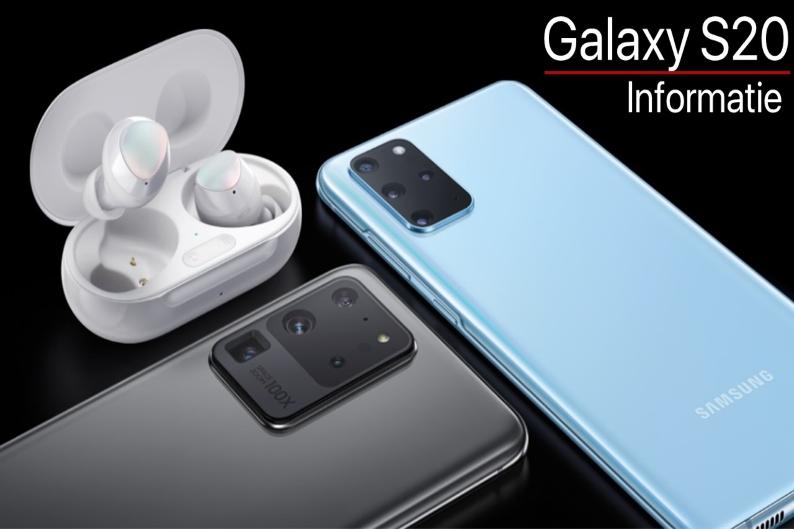 Voorpagina Galaxy S20